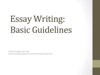 Tips to make an essay